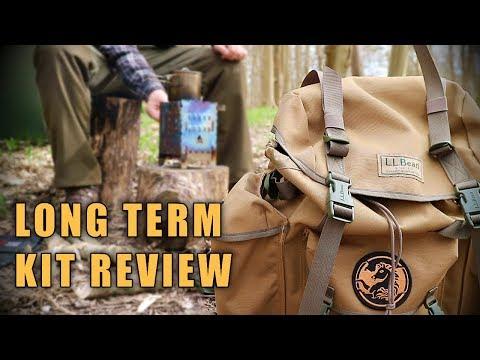 Long Term Camp / Bushcraft Kit Review