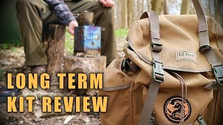 Long Term Camp / Bushcraft Kit Review