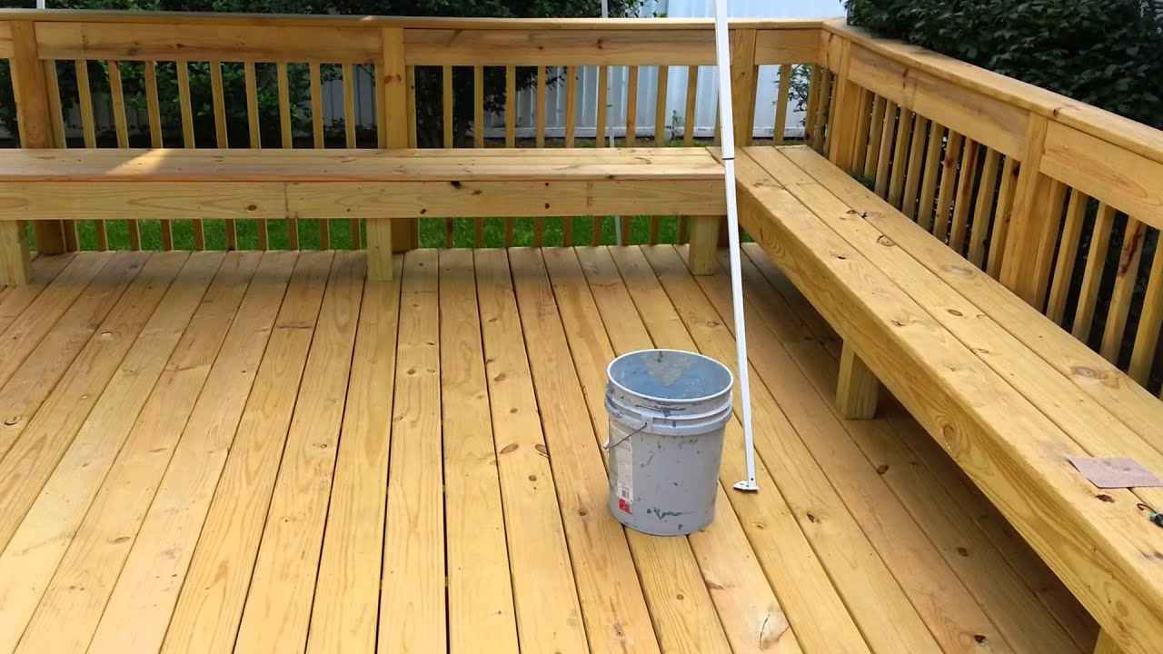 Hrs Home Services Product Review Sherwin Williams Deckscapes Part 1 Before