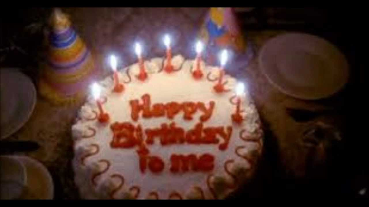 Birthday Cake Image To Me : HAPPY BIRTHDAY TO ME (1981) ~ Music from the film - YouTube