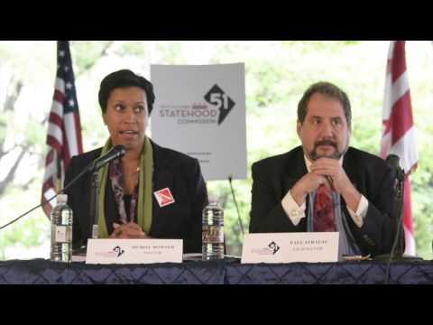 New Columbia Statehood Meeting