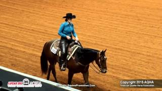 von remin ridden by denise a holiman 2015 aqha world show finals jr ranch riding