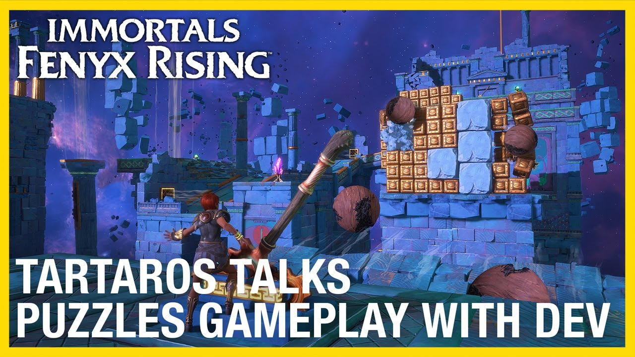 Immortals Fenyx Rising: Tartaros Talks – Puzzle with Dev Gameplay Deep Dive | Ubisoft