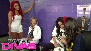 eva marie confronts the bellas after brie s summerslam match total divas nov 10 2013