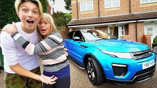 Kid surprises Mom with her Dream Car... (emotional)