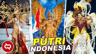 10 Kostum Nasional Indonesia Terbaik Di Ajang Miss Universe MP3