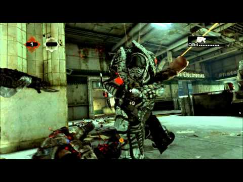 Gears 3 Beta Arm Beat Down Execution - 1080p