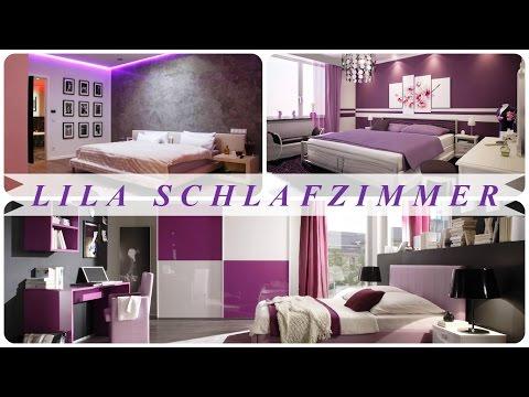Lila schlafzimmer