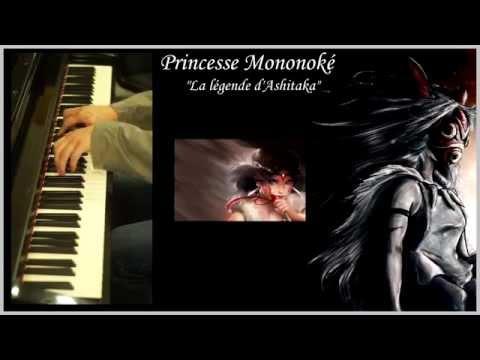 Princess MononokeThe legend of AshitakaPiano Solo