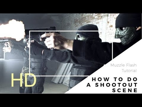 Download Vfx Breakdown Muzzle Flashes Bullet Ricochet Blood
