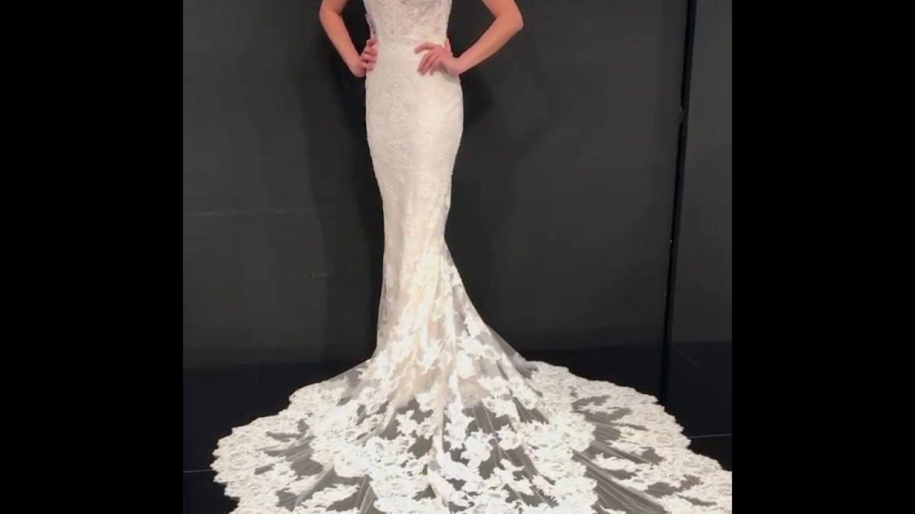 b751d0f6d0f 2018 Enzoani Collection at Interbride - Mercedes Gown - YouTube