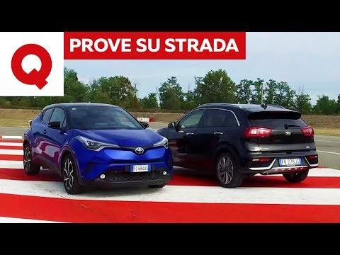 Kia Niro vs Toyota C-HR: la sfida ibirida | Quattroruote