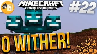 MINECRAFT - OS CONQUISTADORES #22: O WITHER & CAMAS EXPLOSIVAS!