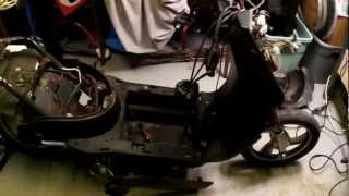 Electric Scooter Tuning*frame damage*