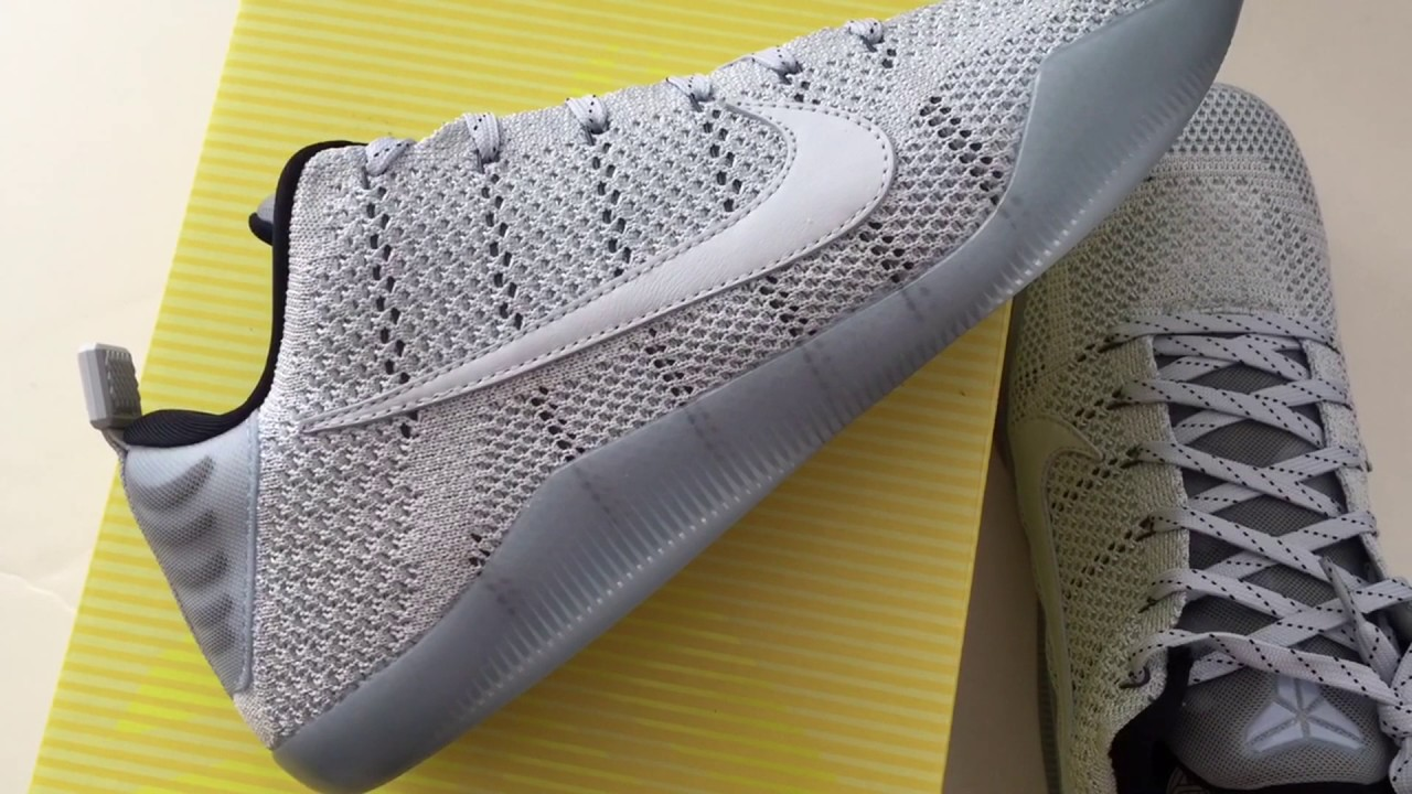 cheaper fbfcc 8da40 Quick Look At Nike Kobe 11 XI Elite low 4KB Pale Horse