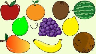 Fruit Song 3 | Sing and Learn Fruit Names For Children