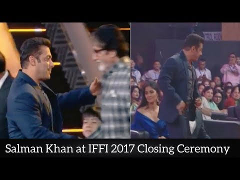 Salman Khan at IFFI 2017 Closing Ceremony || International Film Festival of India 2017 ||
