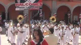 Halcones Marching Band  Hueytamalco 16/sep/12