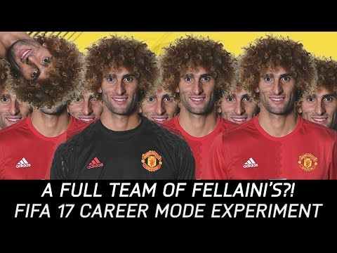 What If You Field A Full Team Of Fellaini's? - FIFA 17 Experiment