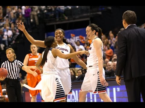UConn Huskies Defeat Syracuse 82-51 in Title Game