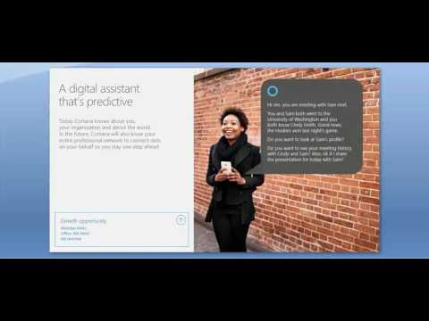 LinkedIn & Microsoft presentation