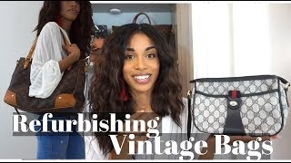 TRIPLE BAG REVEAL  |  New Gucci & LV + Removing Vintage Odors from Handbags  |  KWSHOPS