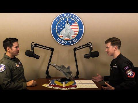 Interview with F-22 Demo Pilot | Maj. Josh 'Cabo' Gunderson