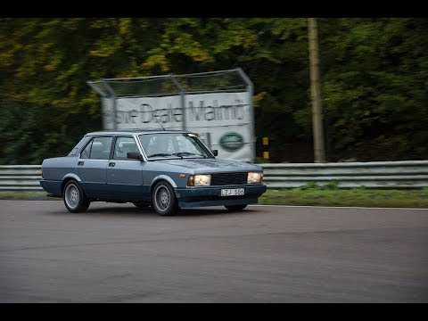 Knutstorp Ring Trackday In A Fiat Argenta Youtube