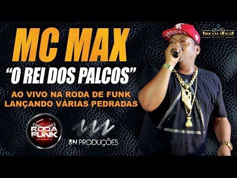 MC Max :: Ao vivo lançando várias no palco da Roda de Funk :: Classificação Livre