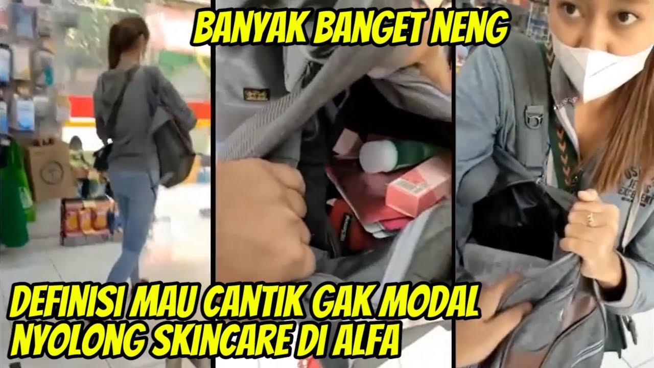 Nah Loh, Mba2 Kegep Nyolong Skincare di Alfa