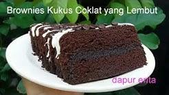 Brownies Kukus - Resep Brownies Kukus Lembut (3 Telur)