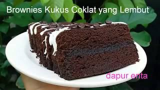 https://youtu.be/FJWSh2TVuTc Resep beserta Tutorial membuat brownies kukus coklat yang super lembut dan rasanya mantap banget. Cara membuatnya mudah lho bund...