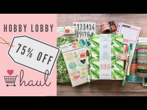 Hobby Lobby Clearance Haul | So Many Crafty Goodies!
