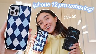 IPHONE 12 PRO UNBOXING + SET UP!