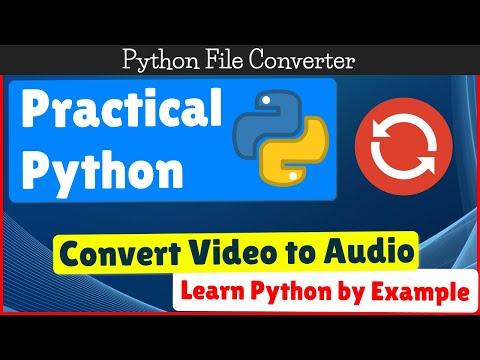 Convert MP3 to MP4 using Python