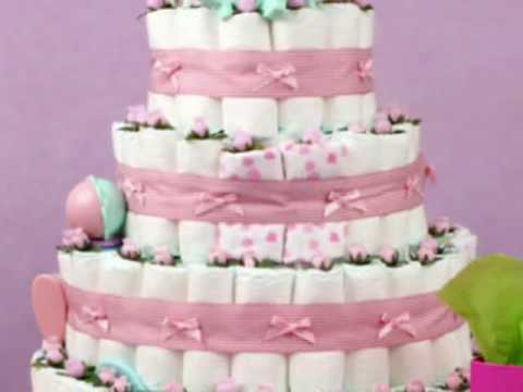 How To Make A Diaper Cake Out Of Cloth Diapers
