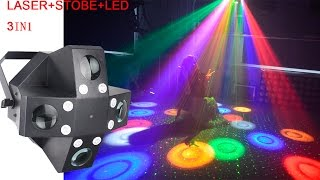 MS-ML06:  Laser+strobe+LED effect light 3in1 effect light