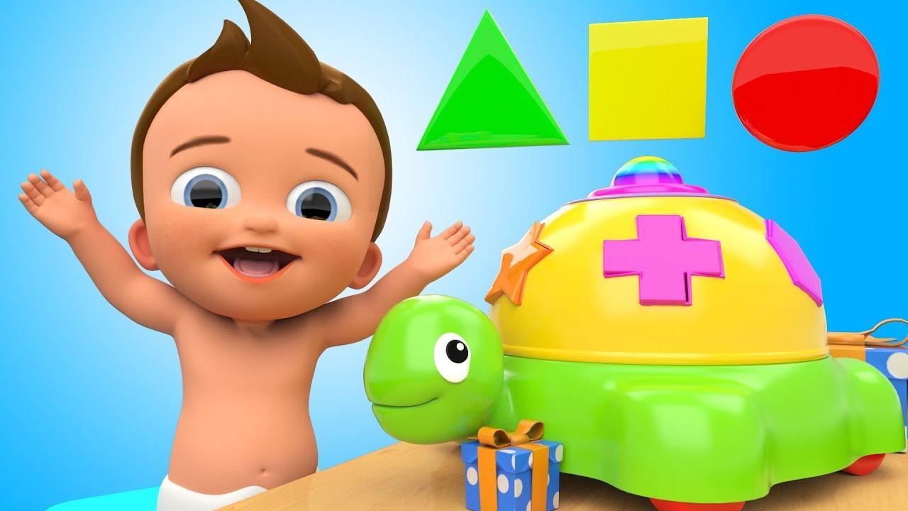 Cartoon baby learn to crawl Vector | Premium Download