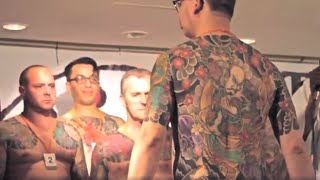 Repeat youtube video 【King of Tattoo 2012】 Japanese Style part