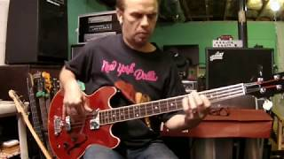 Midnight Rider - The  Allman Brothers (Berry Oakley) bass cover