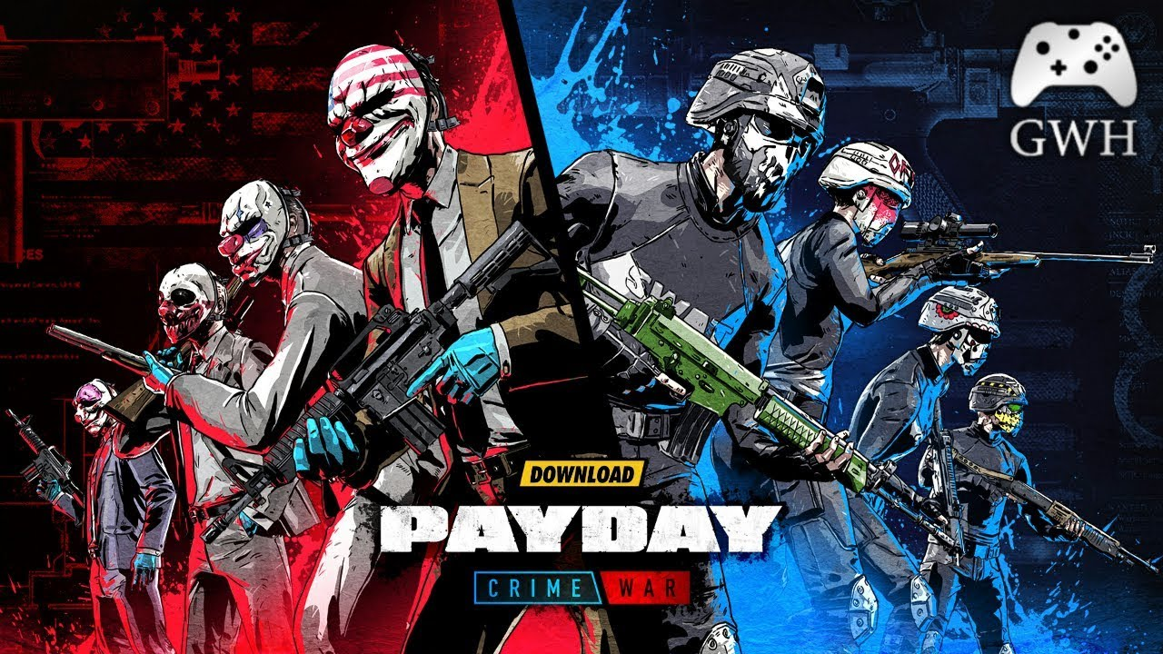 PAYDAY Crime War Android Game Download Free By