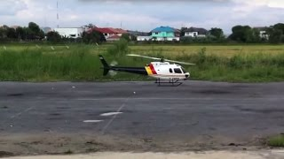 Scale rc ecureuil helicopter trex 600