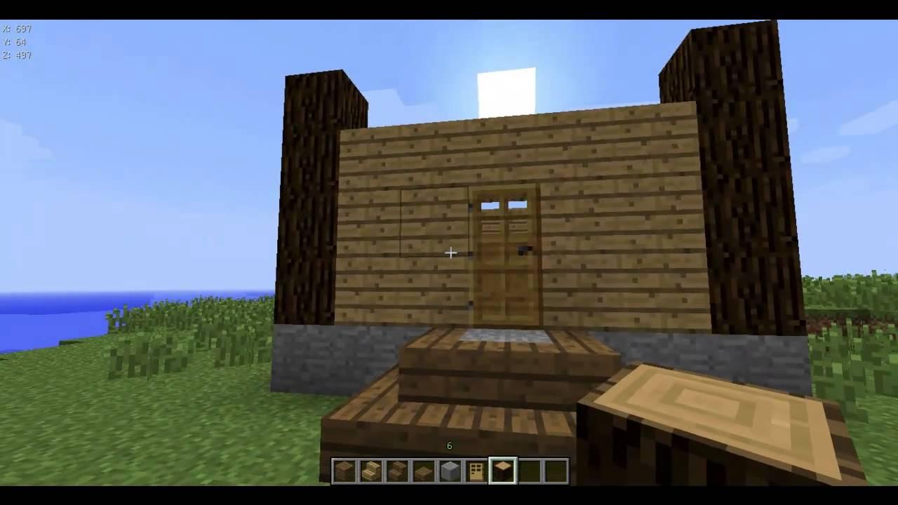 Как сделать дом в майнкрафт самый фото 483