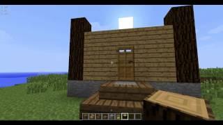 как сделать дом в игре майнкрафт