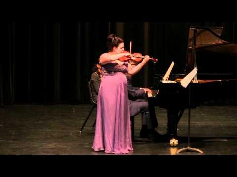 Claude Debussy, Sonate pour violon et piano - Finale: Tres anime