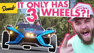 Polaris Slingshot: Three Wheel Fun! | The New Car Show