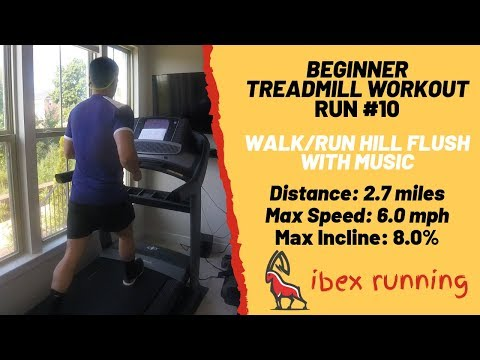 25 Minute Run Walk Treadmill Workout