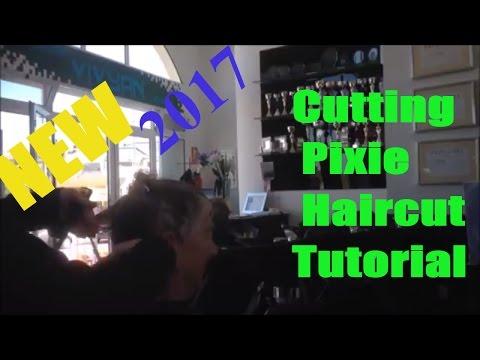 2017 Cutting Short Hair Pixie Haircut Tutorial,  Pixie Cut, KORT Kapsel Haar Tutorial By Amal Hermuz