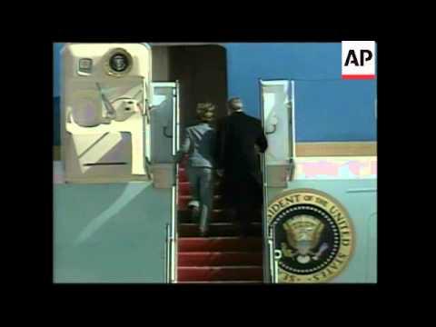 US President Bush departs for Asia trip