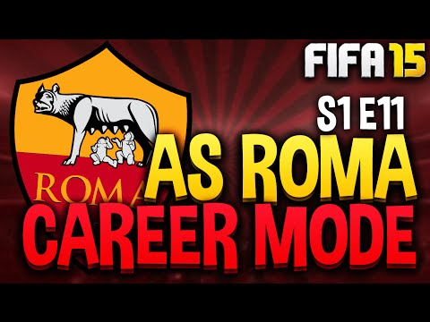 DEADLINE DAY!! AS Roma Career Mode - S1 E11 (FIFA 15 Career